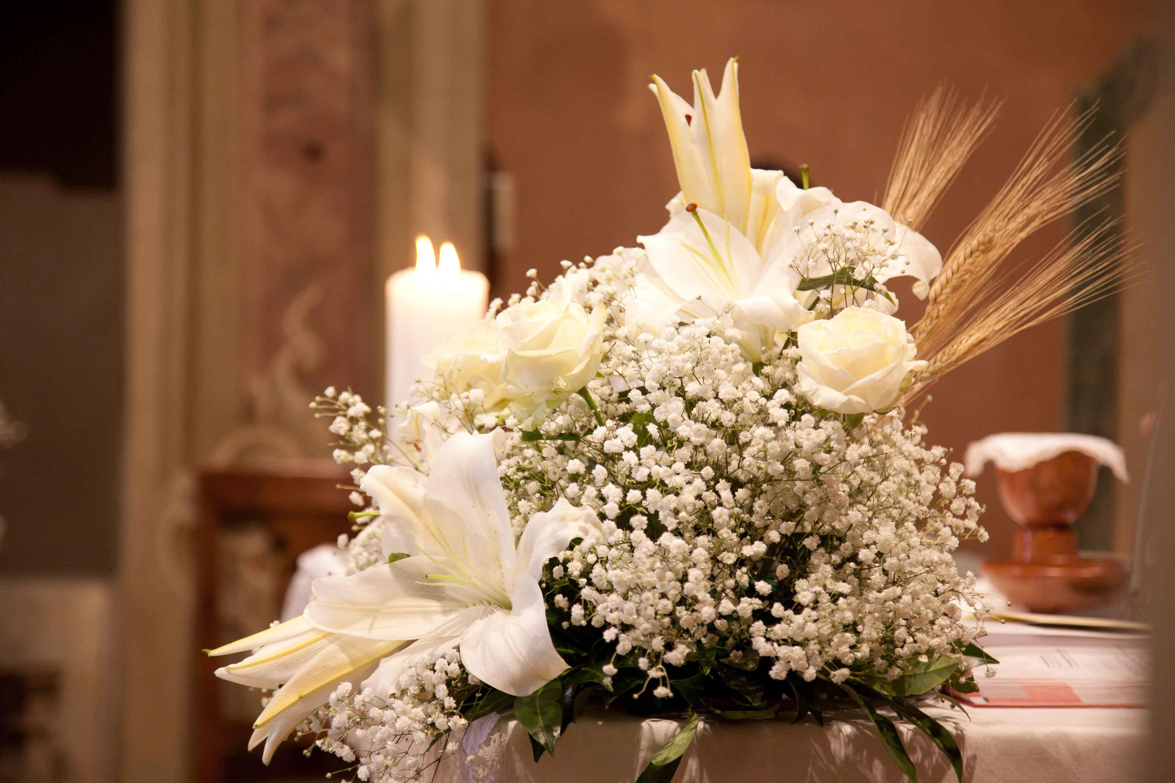 Composizioni floreali per la Chiesa