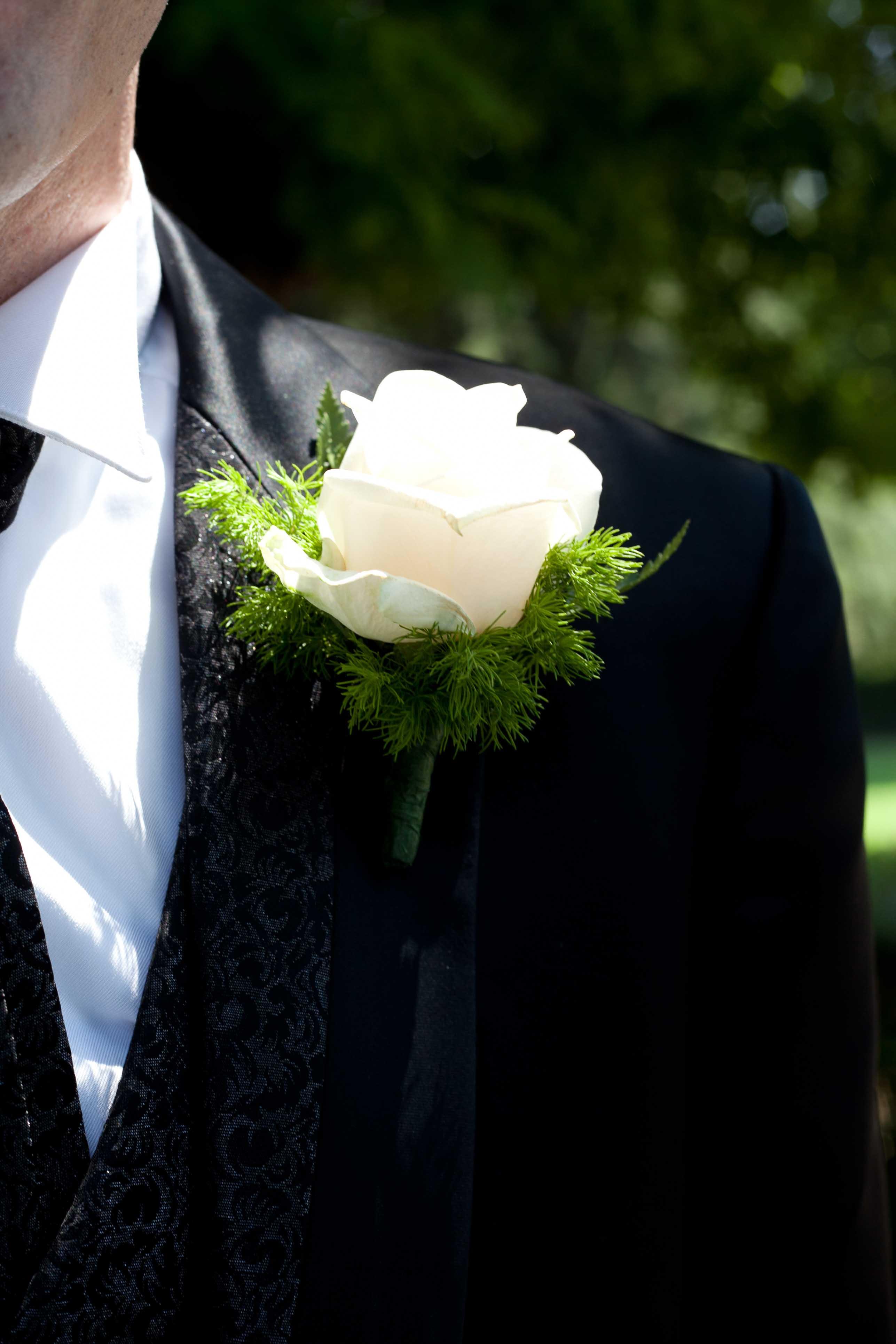 Fiore all'occhiello dello Sposo