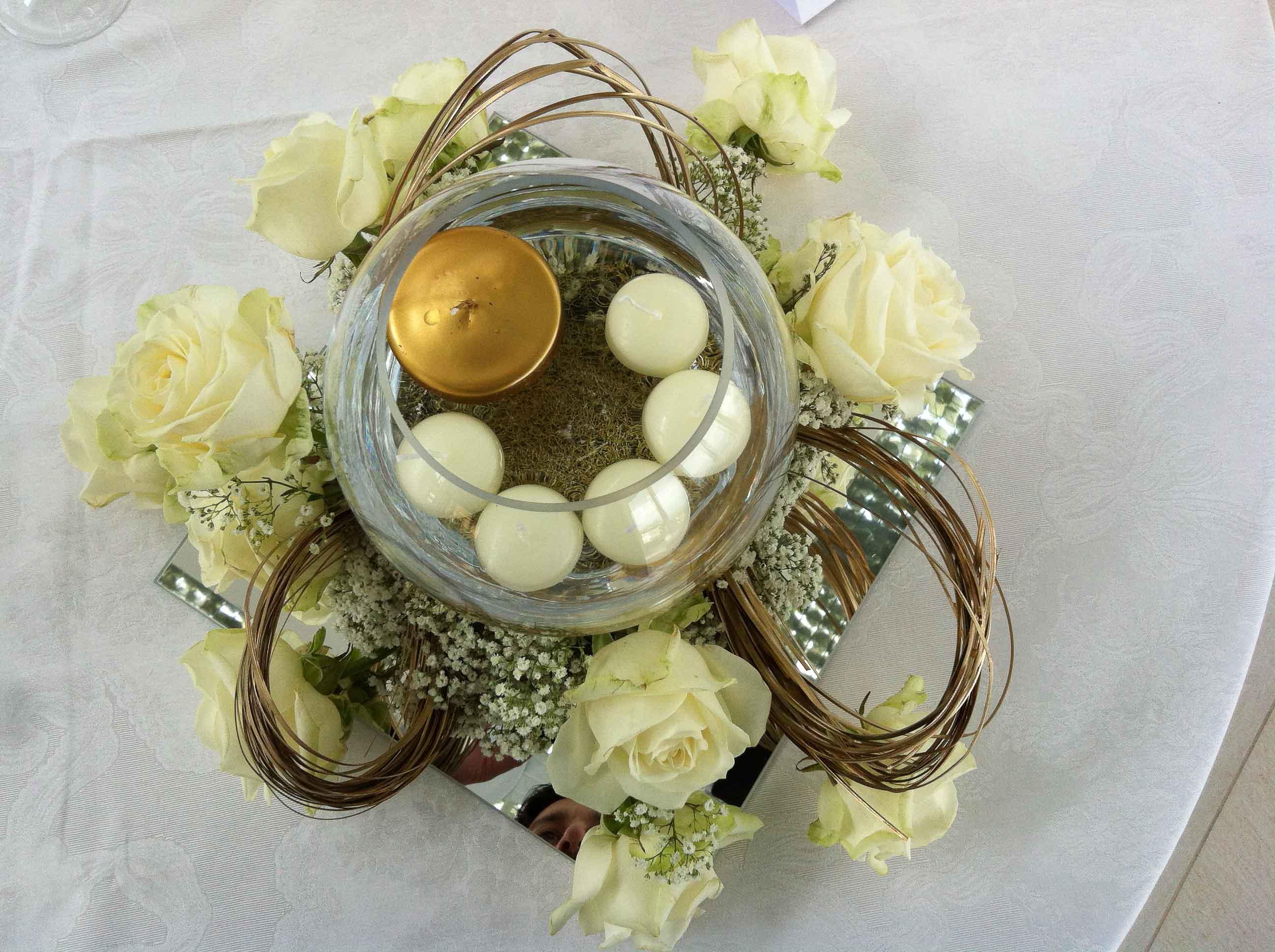 Composizioni floreali matrimoni
